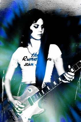 Joan Jett - The Runaways / Grunge effect