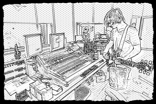 Ian playing | Sketcher