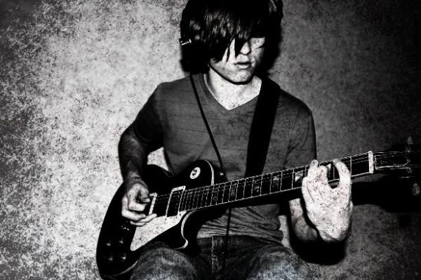 Ian Playing Guitar