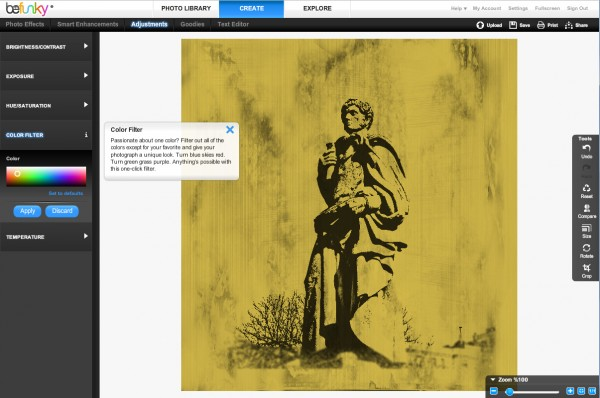Color Filter Screenshot